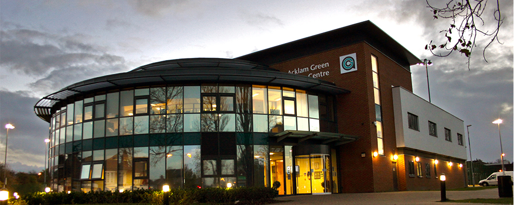 Acklam Green Centre Exterior Banner Image