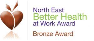 Better Health at Work Bronze Award logo